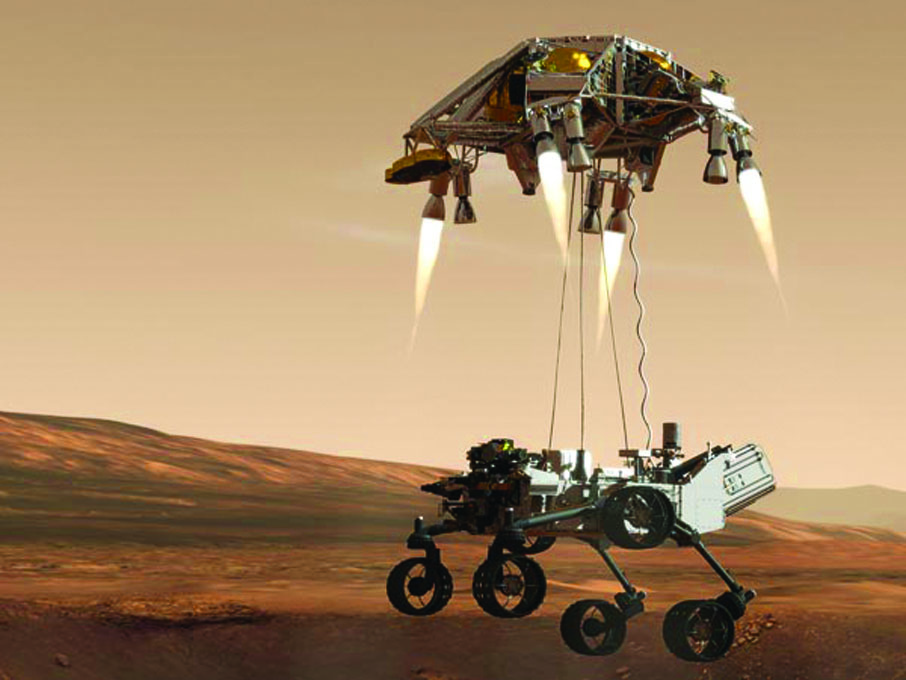 mars rover landing interview - photo #16