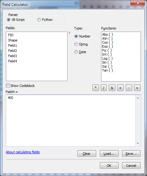8_Use Field Calculator to change values or edit individual