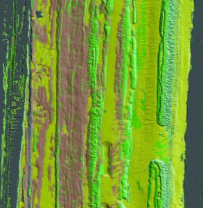 This image of the ocean floor to a depth of 35m was taken with the Optech CZMIL in Ft. Lauderdale, Florida.