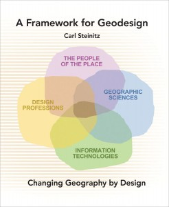 Carl Steinitz's book cover illustrates that geodesign is not a separate profession in and of itself.