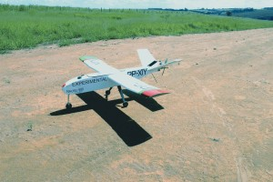 The Nauru 500 is a UAV designed and built in Brazil by the company Xmobots. Courtesy of Nauru.