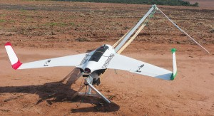 The Echar 20A is a UAV designed and built in Brazil by the company Xmobots. Courtesy of Painel de Fundo.
