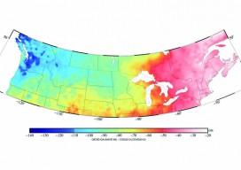 color contour map