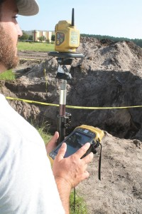 With the prism, DC Johnson's Topcon PS-103a total station affords them an effective range of 6000 meters with accuracies of 1.5mm+2ppm.