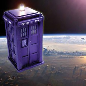 Artist's concept of what the TARDIS nano sat will look like in orbit. Credit: TARDIS In Orbit project.