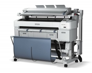 Epson's SureColor T-Series is an example of the new wave of inkjet wide-format printers. The scanner attachd ot top makes this a multi-function system.