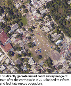 Feature Delivering Intelligence Not Data XyHt - Current aerial maps