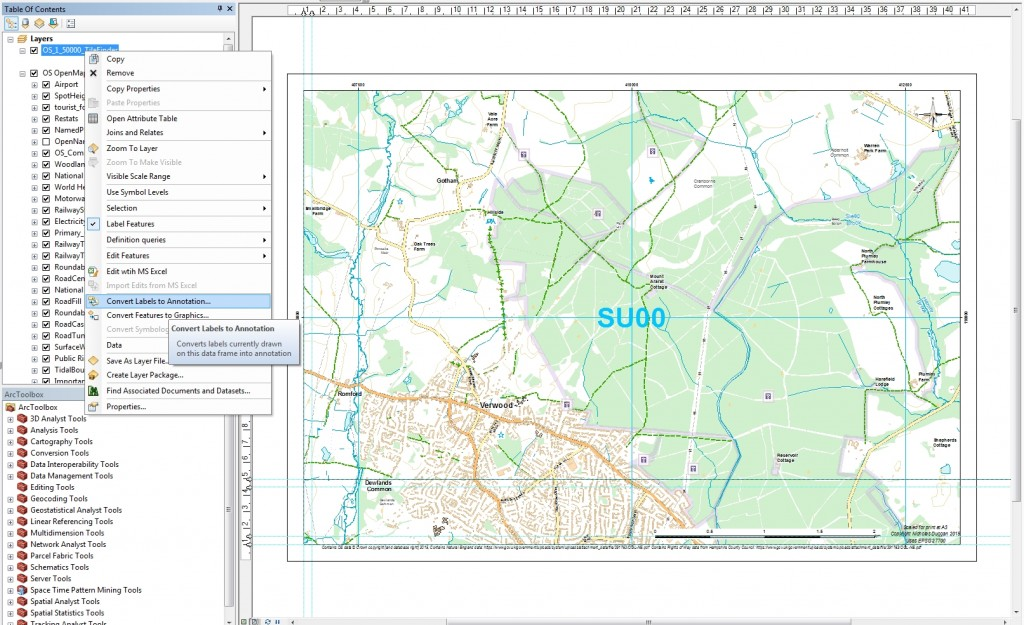 ArcGIS Transparent Text 3