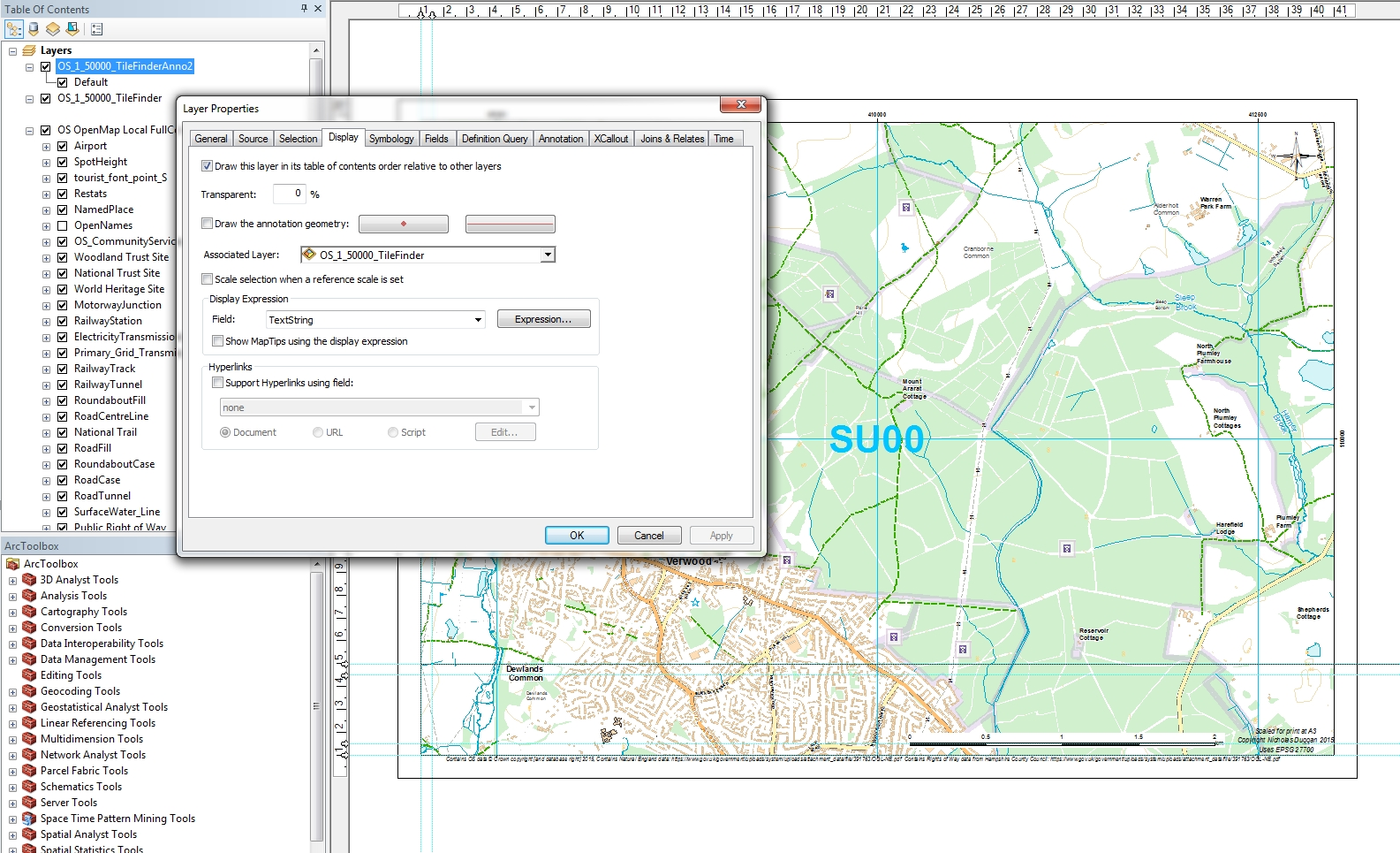 How to Add Transparent Text to ArcGIS in 4 Easy Steps - xyHt