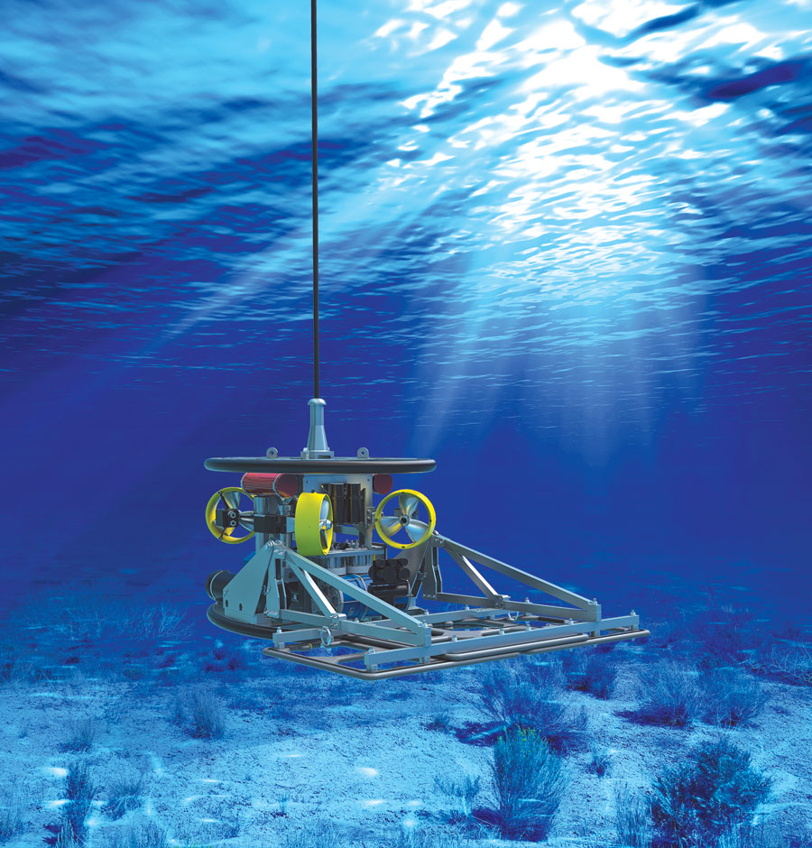 Bibby HydroMap's dynamic Remotely Operated Survey Platform (d'ROP).