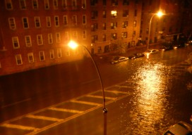 Storm Surge in Brooklyn