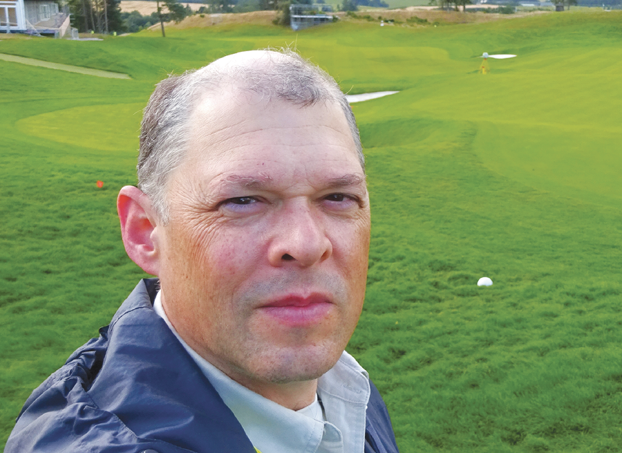 O'Brien has documented greens with laser scanning since 2009.
