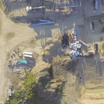 Construction site monitoring with UAS-derived aerial imagery.