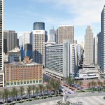An InfraWorks 360 model of downtown San Francisco. Image courtesy of Autodesk.