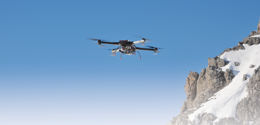 The RiCOPTER UAS with VUX-SYS lidar is the first integrated survey-grade laser scanner-UAS.
