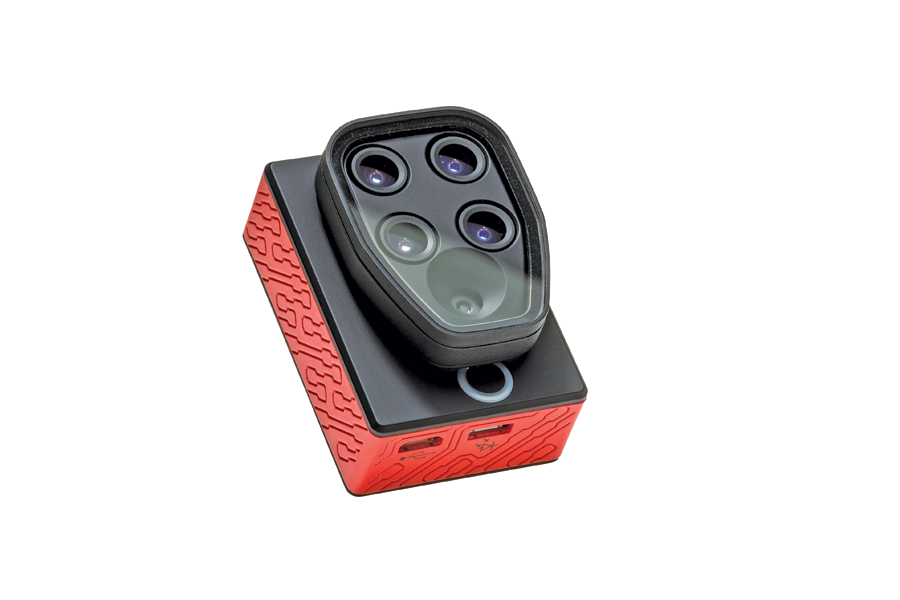senseFly recently introduced its Sequoia multispectral sensor for its eBee Ag sUAS. The unit includes four 1.2 MP sensors that capture data over four spectral bands, plus a 16 MP RGB sensor.