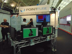 Point Fuse demonstrated their applications for converting point clouds to vector data