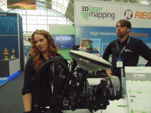Charlie of 3D laser Mapping and the backpack mobile mapping system