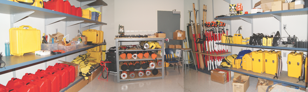 Surveying equipment lab