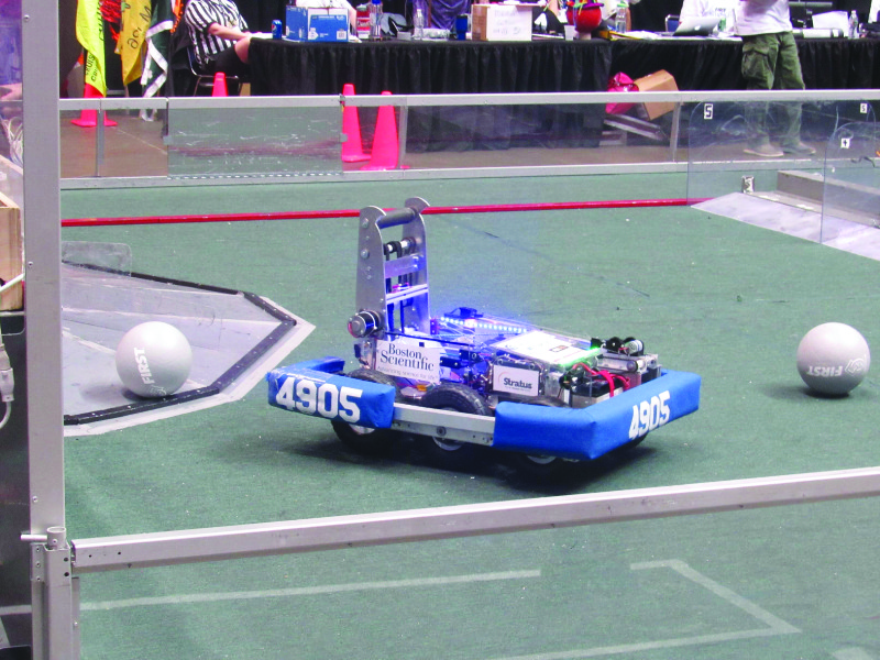 Andromeda One's award-winning robot goes through its paces.