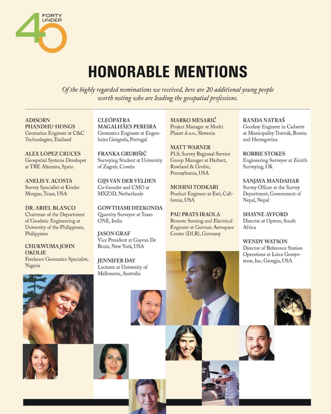 40 under 40 2017 honorable mentions