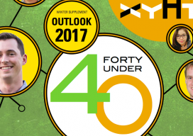 xyHt OUTLOOK supplement 2017 banner, 40 Under 40