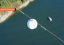 unmanned surveying above water