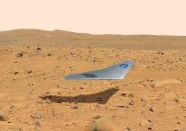 The Prandtl-m is a conceptual fixed-wing drone for Mars mapping that will be tested this year from a balloon drop over Earth at an altitude of 35,000m to simulate Mars' thin atmosphere, 1/100th as dense as Earth's.