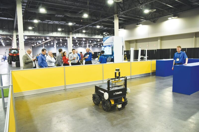 an indoor autonomous vehicle