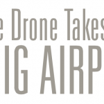 Little drone takes on big airport title banner