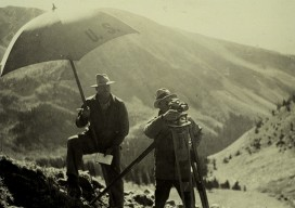 Whisky Pass Colorado, 1935. Credit: NOAA National Geodetic Survey