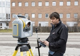 Joining us on the test survey was Lennart Gimring, Survey and Mapping Manager for ÅF Infrastructure AB who was an early adopter of the SX10. Gimring reports that the rollout with his crews has been quite smooth. Photo by Petter Magnusson - PMAGI AB