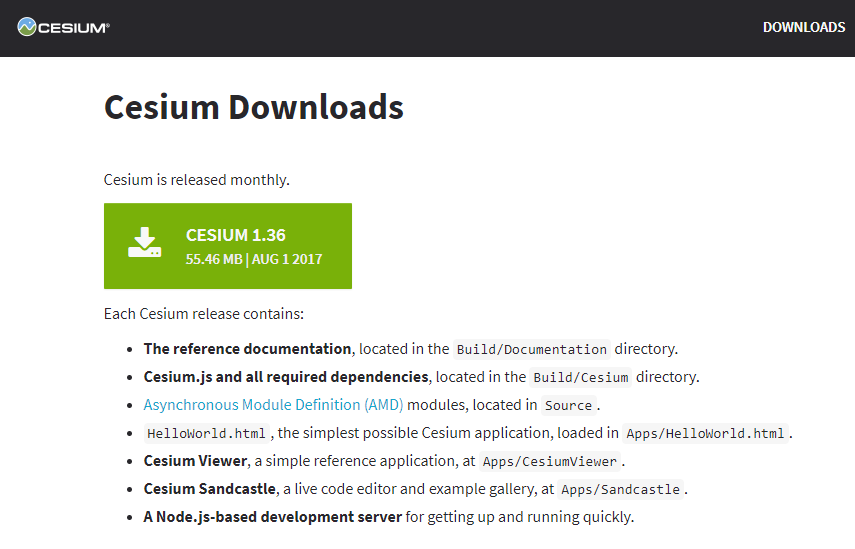 Cesium Download