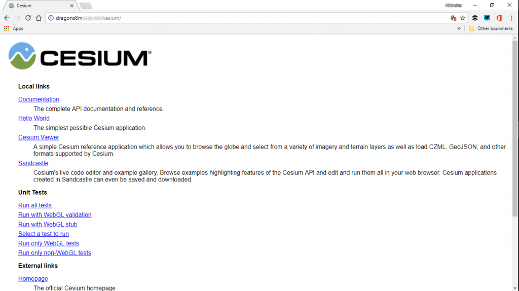 Web Proof Cesium