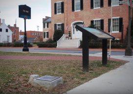 Frederick MD City Hall Meridian Stones