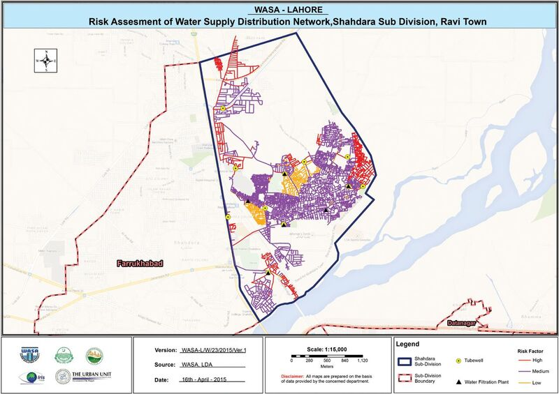 This risk map shows which water lines urgently require replacement or serious decisions