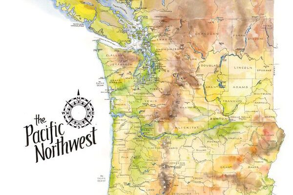 Pacific Northwest Map The Pacific Northwest   xyHt Pacific Northwest Map