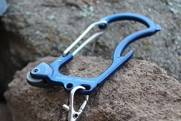 Firebiner multi-function carabiner