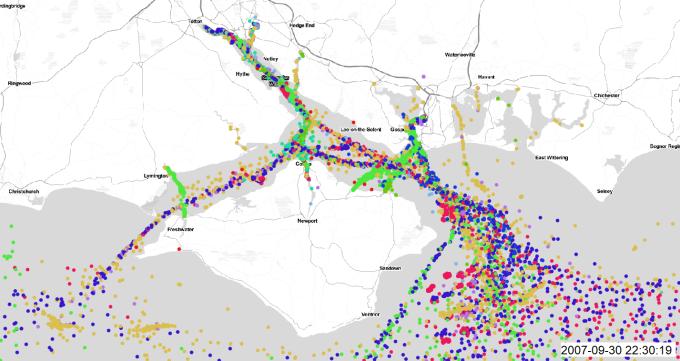 AIS: Using Shipping Data in GIS - xyHt