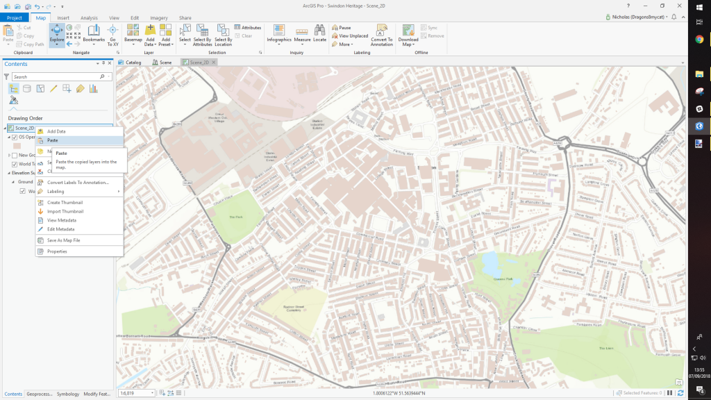 Where on Earth Is the Offset in ArcGIS Pro? - xyHt