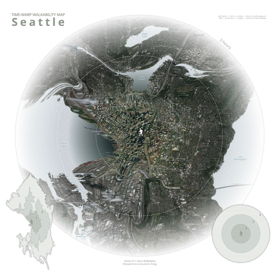 Time Walk Walkability Seattle