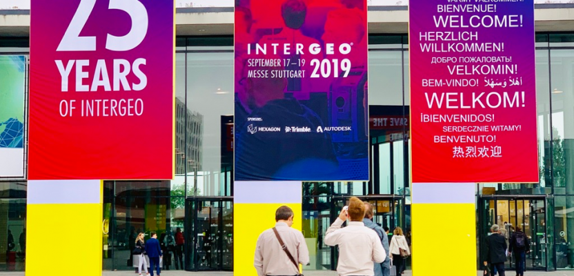 Outstanding Geospatial Trends at INTERGEO 2019