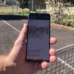 A Google app for Android phones collects raw GNSS data. Photo courtesy of Maren Euwer.