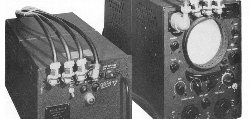 A World War II Loran receiver